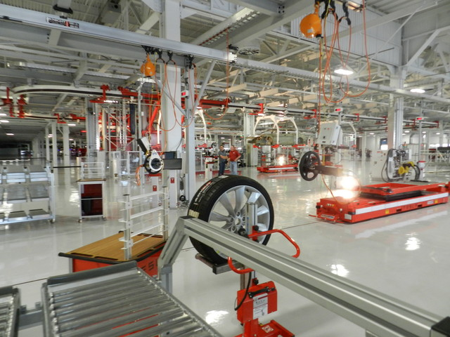 tesla factory 108