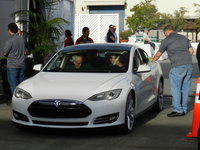 Highlight for album: Tesla Model S Beta Ride